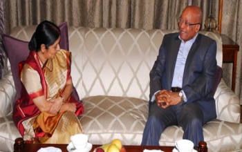 Smt. Sushma Swaraj, Hon'ble Minister of External Affairs and Overseas Indian Affairs visited South Africa from 18-19 May, 2015.
