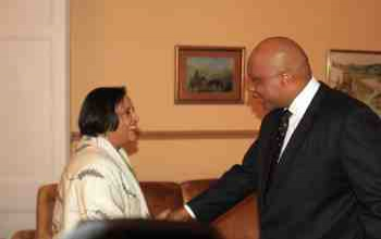 H.E. Ms.  Ruchi  Ghanashyam, High Commissioner of India to South Africa & the Kingdom of Lesotho presented her Letter of Credence to H.M. King Letsie III on 9th July, 2015 at Maseru.
