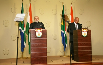 Joint Statement on Prime Minister's visit to South Africa'