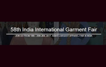 58th India International Garment Fair