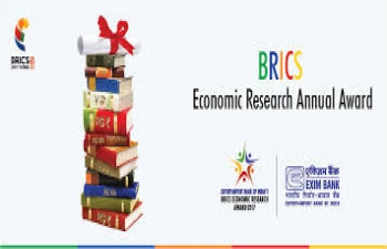 Export Import (EXIM) Banks BRICS Economic Research Annual Award 2017
