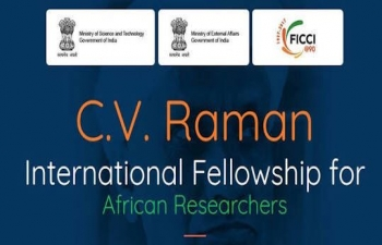 C.V. Raman International Fellowship for African Researchers 2017