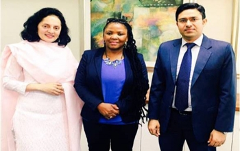 High Commissioner Ruchira Kamboj meets  the Health Minister of the Western Cape