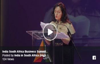 Speech of High Commissioner Ruchira Kamboj at the curtain raiser dinner to open the India South Africa Business Summit at the Sandton Convention Centre Johannesburg on 29 April 2018
