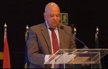 Speech of South African Minister Pravin Gordhan at the Opening Plenary of the India South Africa Business Summit at the Sandton Convention Centre Johannesburg on 30 April 2018.