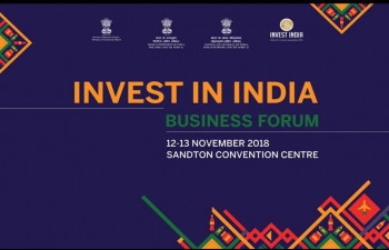 Invest in India Business Forum.