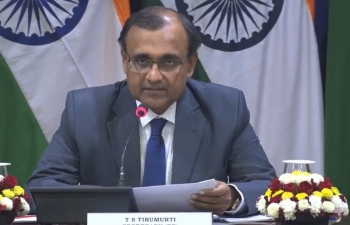 Media Briefing by Secretary (ER) on upcoming visit of President of South Africa to India