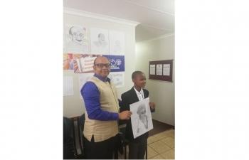 Gandhi Portrait Drawing Competition, 4 October 2019