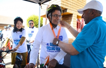 Gandhi Walk Cycling Event , 14 July 2019