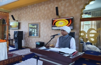 550th Anniversary of Guru Nanak Dev Ji - At Gurudwara Sahib, Johannesburg, 24 November 2019