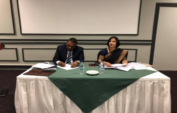 4th India-Lesotho Joint Bilateral Commission of Cooperation(JBCC), Maseru, 30 September 2019