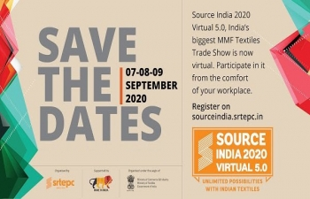 Source India Virtual 5.0' - India's biggest MMF textiles trade show : extended till 12 September 2020