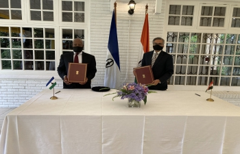 Agreement on exemption of visa requirement for holders of diplomatic and official passports was signed on 3 December 2020 in Pretoria