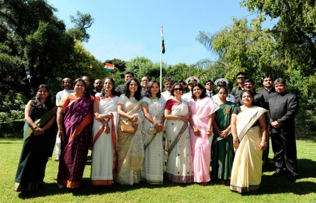 Republic Day ~ India House, 26 January 2013